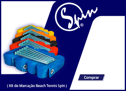 Kit de Demarcação de Beach Tennis Spin