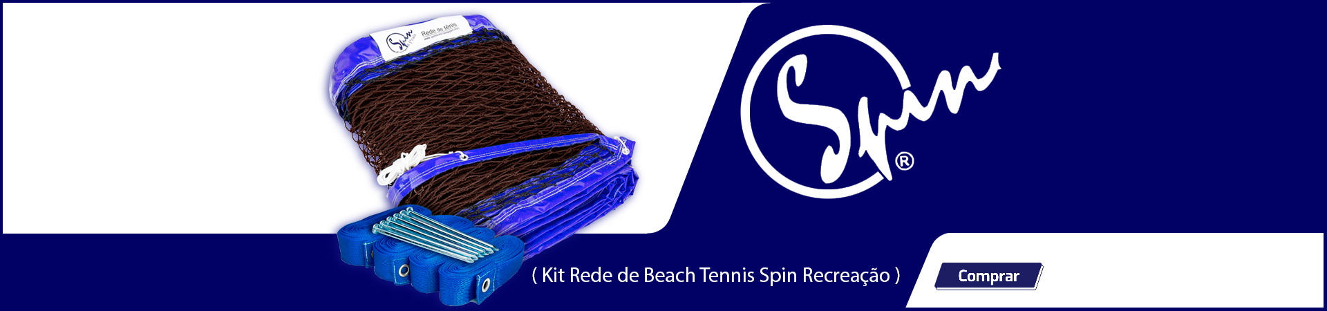 Kit Rede de Beach Tennis